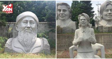 """Trố mắt với công viên Hàn Quốc có hơn 6.000 tượng """"xấu vô đối"""""""
