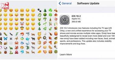 """""""Lên đời"""" ngay iOS 10.2 để có thêm rất nhiều emoji mới"""