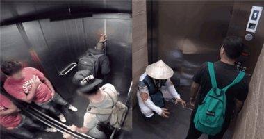 Chết cười với những kẻ chuyên phá đám trong thang máy