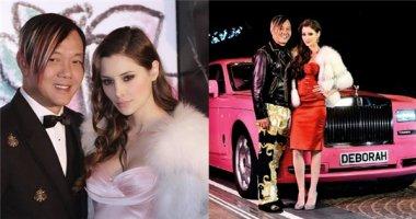 """""""Ngỡ ngàng"""" nhan sắc """"lệch pha"""" của vợ chồng tỷ phú giàu nhất Macau"""