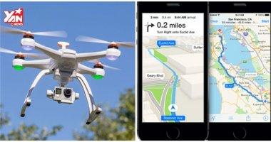 Apple sẽ dùng đến drone để đánh bại ứng dụng Google Maps