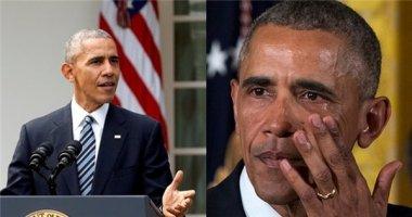 Xúc động cảnh ông Obama bật khóc nói lời chia tay nhân viên của mình