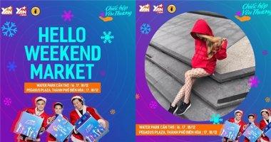 Hello Weekend Market cùng giới trẻ Cần Thơ, Biên Hòa đón Giáng Sinh