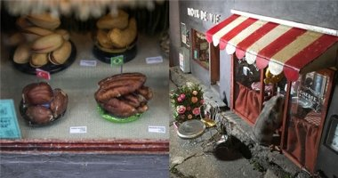 Siêu dễ thương những cửa hàng cực nhỏ dành cho ... chuột
