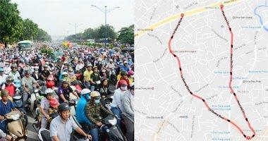 Nhiều tuyến đường lớn của TP.Hồ Chí Minh sắp thành đường một chiều