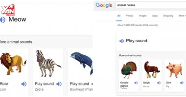"""Không chỉ giúp tìm kiếm, Google còn biết """"nhái giọng"""" đủ loại động vật"""