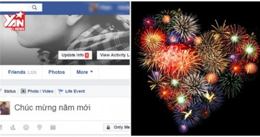 """Facebook cho bạn """"bắn pháo hoa"""" để chào đón năm mới 2017"""