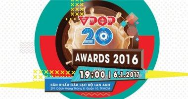 Vpop 20 Awards 2016 chính thức khởi động