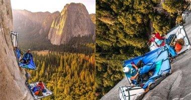 """""""Thót tim"""" với thú vui mới của các tay leo núi mạo hiểm"""