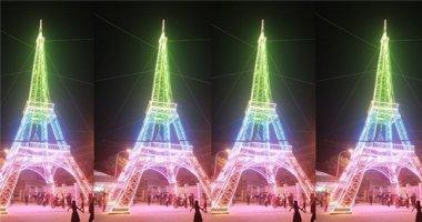 """Cận cảnh """"tháp Eiffel xứ Nghệ"""" chào đón mùa Giáng sinh 2016"""