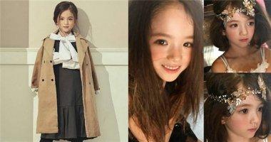 Ngất ngây với vẻ đẹp lung linh của mẫu nhí 8 tuổi người Hàn
