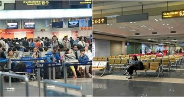 """Nhân viên vệ sinh """"cầm nhầm"""" máy tính của khách tại sân bay Nội Bài"""