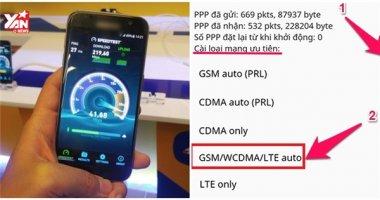 Mẹo kích hoạt mạng 4G bị ẩn cho tất cả điện thoại Android