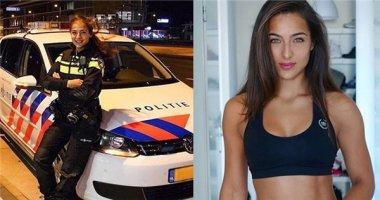 Ngất ngây trước vẻ quyến rũ của cô nàng cựu cảnh sát Hà Lan xinh đẹp
