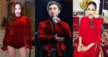 """Vải nhung đỏ nữ tính: Sơn Tùng vẫn """"cân"""" được đấy thôi!"""
