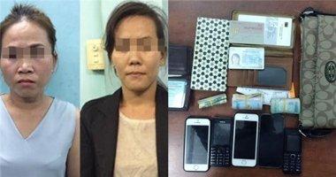 Bắt được nhóm phụ nữ lợi dụng trẻ em móc túi ở đường hoa Nguyễn Huệ