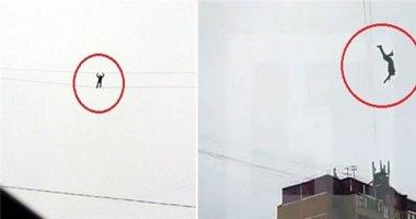 Nga: Nam thanh niên tử vong khi cố thử đi trên dây cáp ở độ cao 30m