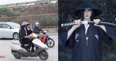 Sự thực về bức ảnh nữ đạo sĩ đi xe máy trên phố gây bão mạng
