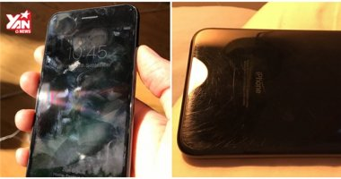 """Thân xác iPhone 7 Jet Black """"tàn tạ"""" sau 3 tháng sử dụng"""