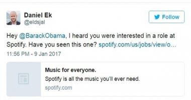 """Rời nhà Trắng, ông Obama sẽ """"đầu quân"""" cho công ty âm nhạc?"""