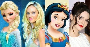 14 khoảnh khắc sao nữ trông giống hệt công chúa phim hoạt hình Disney