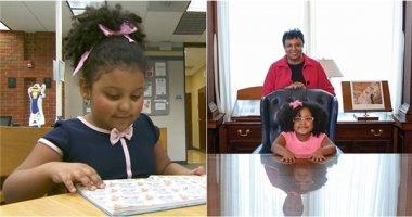 Bạn tin không, mới 4 tuổi, cô bé này đã đọc hết 1.000 quyển sách?