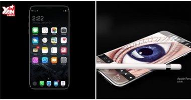 Ngoài đẹp và mạnh thì iPhone 8 còn có thêm cảm biến mống mắt