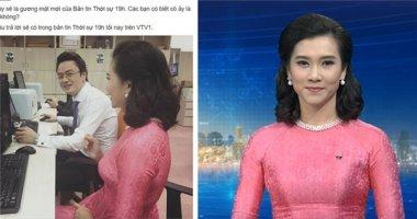 Cận cảnh nữ BTV xinh đẹp mới toanh của bản tin Thời sự VTV