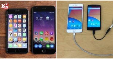 Độc đáo iPhone chạy hệ điều hành Android