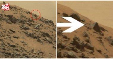 Rò rỉ hình ảnh kim tự tháp xuất hiện trên Sao Hỏa?
