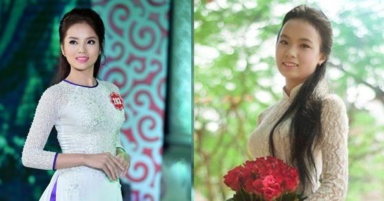 Thảo Ly(bên phải) có nhiều nét rất giống hoa hậu Kỳ Duyên. (Ảnh: Internet)