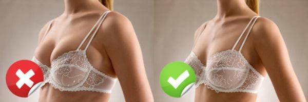 Mặc áo ngực không đúng size sẽ gây ra nhiều tác hại. (Ảnh: Internet)