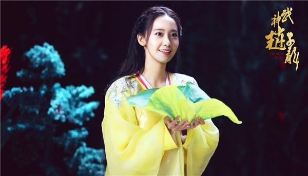 Tung ảnh phim cổ trang đầu tay, Yoona bị chê nét đẹp quá Hàn