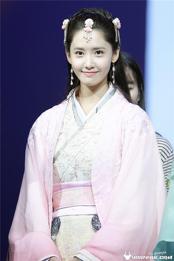 Yoona tại buổi họp báo của phim God Of War Zhao Yun tại Hàn Quốc