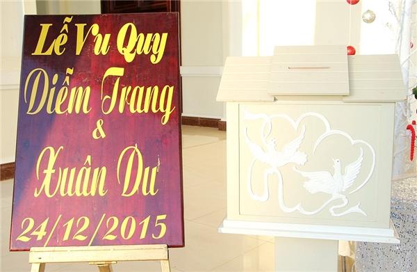 Diễm Trang rạng ngời trong lễ cưới ngập tràn không khí Giáng Sinh - Tin sao Viet - Tin tuc sao Viet - Scandal sao Viet - Tin tuc cua Sao - Tin cua Sao