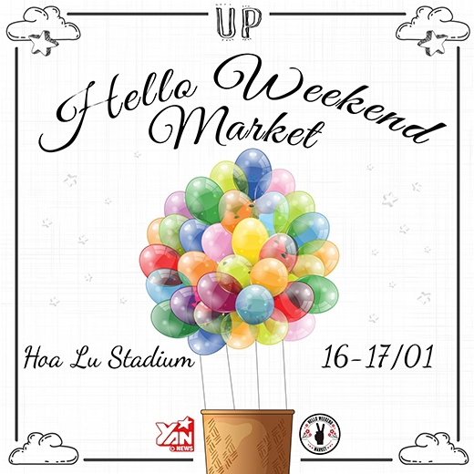 Thỏa sức mua – Đua sức sắm tại Hello Weekend Market