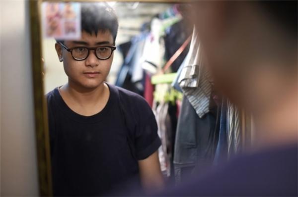 Anh Chalit Pongpitakwiset, một người đang trong quá trình chuyển giới. (Ảnh: AFP)