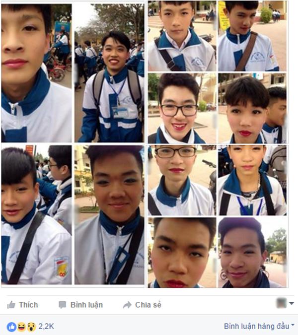 Những hình ảnh được đăng tải trên mạng xã hội. (Ảnh: Ảnh chụp