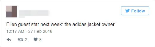 """""""Khác mời tiếp theocủa talkshow nổi tiếng của EllenDeGeneres sẽ là chiếc áo này đây"""".(Ảnh: Chụp Twitter)"""