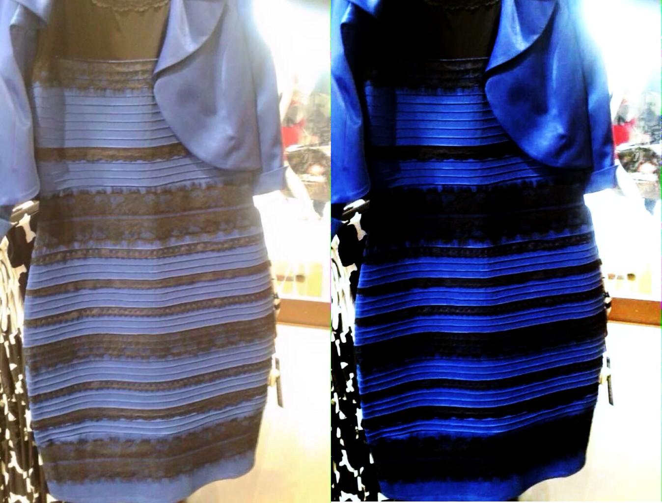 """Chiếc váy """"gây bão"""" vào khoảng đầu năm 2015. (Ảnh: Internet)"""