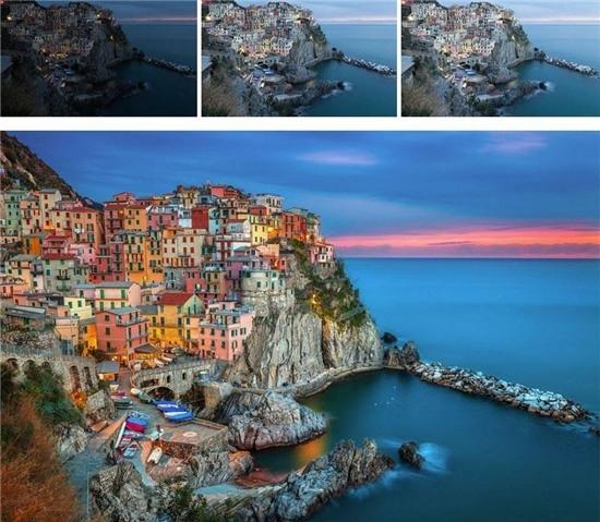 Từ một bức ảnh bình thường, bỗng chốc trở nên thật nhiều màu sắc và sinh động!