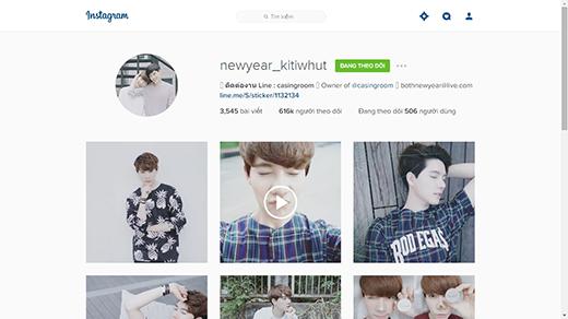 Tài khoản Instagram của 2 anh chàng được người hâm mộ nhiều nước theo dõi. (Ảnh: Internet)