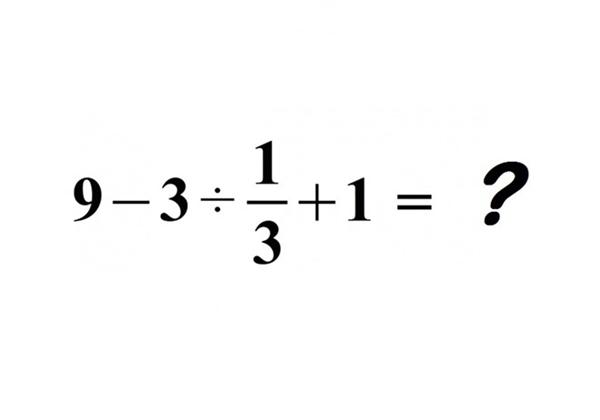 Bài toán khiến nhiều người tranh cãi. Ảnh: MindYourDecisions.