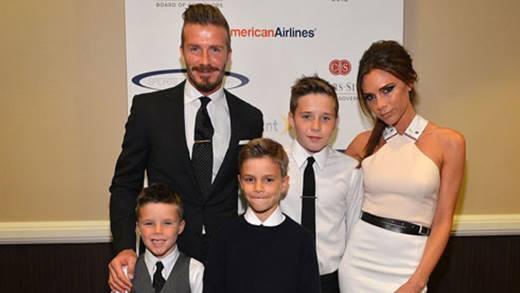 Hành trình trưởng thành các hoàng tử và công chúa nhà David Beckham