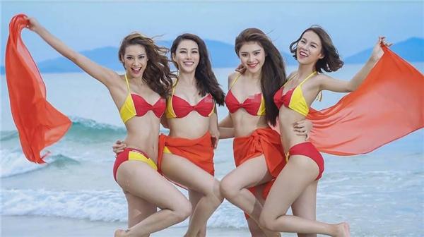 Đội Hồ Ngọc Hà được nhận xét nắm lợi thế trong phần thi này bởi các cô gái rất đồng đều về mặt hình thể, gương mặt sáng, ăn ảnh.