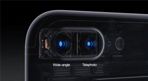 Camera kép trên iPhone 7 Plus. (Ảnh: internet)