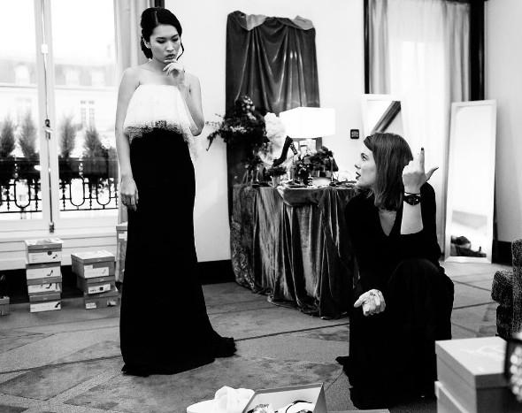 Nam Phương sang trọng trong những chiếc váy dạ hội chuẩn bị cho buổi dạ tiệc đặc biệt.