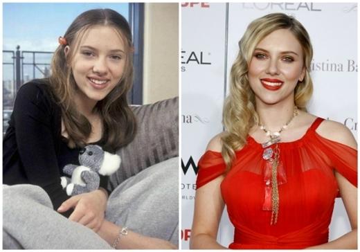 Scarlett Johanssonquyến rũ và gợi cảm hơn thuở còn dậy thìrất nhiều.