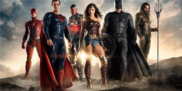 Justice League ghi nhận lần xuất hiện đầu tiên của Liên minh công lý trên màn ảnh.