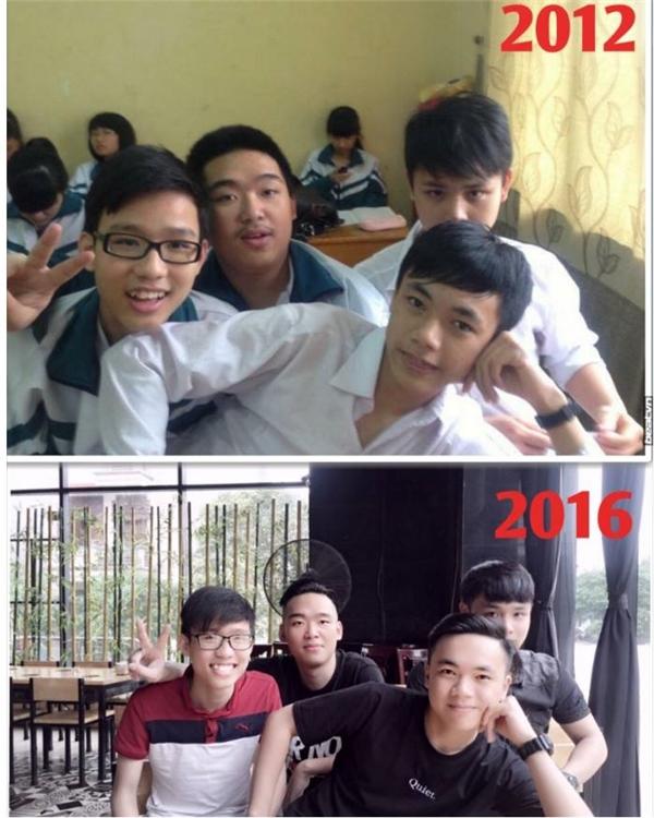 Dù mới 4 năm thôi nhưng các anh chàng ấy hứa hẹn con đường chông gai phía trước vẫn có nhau.(Ảnh: Internet)